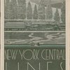 Daily menu held by New York Central Lines (Railroad) -- (English)