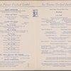 Breakfast menu, San Francisco Overland Limited