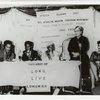 Eslanda Goode Robeson speaking at Africa Women's Day gathering.