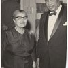 Eslanda Goode Robeson and Paul Robeson.
