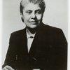 Portrait of anthropologist, activist, and photographer, Eslanda Goode Robeson.