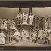"""Uncle Tom's Cabin"" scene from the Grand Street Follies, set design by Russel Wright, Neighborhood Playhouse."