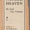 """Why go to Harlem cabarets when you can read Nigger Heaven by Carl Van Vechten"""