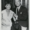 Mimi Hines, Phil Ford and dog Lilly, July 14, 1966.