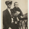 Avery Willard with father in Marion, Virginia