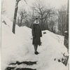 Avery Willard's mother in Central Park, February 21, 1947