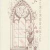 Funeral program for Avery Willard's mother (Mrs. Mark King Grissom), 1989