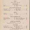 Daily menu at Dining Car, Richmond Fredericksburg and Potomac Railroad (Railroad) -- (English)