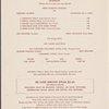 Dinner held by The Streamliner (Railroad) -- San Francisco, California (CA) (English)