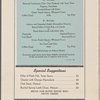 Lunch menu, The Beaver, Southern Pacific