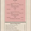 Dinner at The San Francisco Challenger, Southern Pacific (Railroad) -- (English)