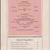 Dinner at Coaster, Southern Pacific (Railroad) -- (English)