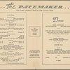 Dinner menu, New York Central System