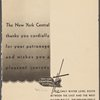 A la carte held by New York Central System