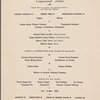 Dinner held by Pennsylvania Railroad (Railroad) -- (English)