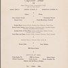 Dinner held by Pennsylvania Railroad (Railroad) -- (English)