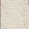 Autograph letter signed to Everina Wollstonecraft, 11 May 1787