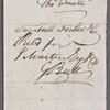 Autograph bill of exchange signed to Joseph Johnson, 13 July 1793