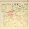 Cayuga County, Right Page [Map of town of Brutus]