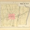 Cayuga County, Left Page [Map of town of Mentz]