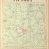 Cayuga County, Right Page [Map of town of Victory]