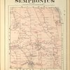 Cayuga County, Right Page [Map of town of Sempronius]