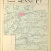 Cayuga County, Right Page [Map of town of Sennett]