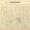 Cayuga County, Left Page [Map of town of Throop]
