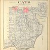 Cayuga County, Right Page [Map of town of Cato]