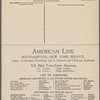 "U.S.M.S. ""St Louis."" Third Class Bill of Fare"