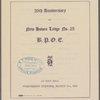 26th Anniversary of New Haven Lodge No. 25; B.P.O.C.