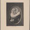 Franz Hals le femme de Scriverius.