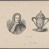 [Portrait of Schuyler ; goblet presented to Peter Schuyler.]