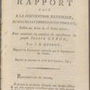 Rapport fait a la Convention nationale, au nom de la Commission des vingt-un, ...