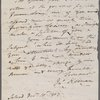 Autograph letter signed to William Godwin, 10 December 1803