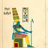Amon, Amon-ra, ou Amon-ré, a tête humaine.