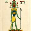 Amon-ra [Amon]. (L'esprit des quatre éléments, l'ame du monde matériel.)