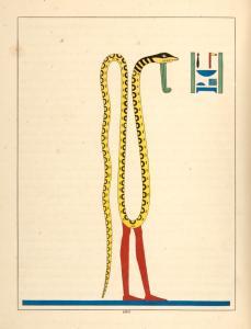 Nef, Noub, Noum. (Cnèph, Cnouphis, Cnoubis, Chnoumis, Agathodaemon.)