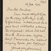 Autograph letter signed to Edward Fergus Graham, 20 May 1810