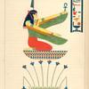 Saté, présidant a la région inférieure, ( la Junon égyptienne.)