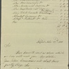 Itemized bill and autograph letter signed to Thomas Jefferson Hogg, 23 November 1811