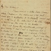 Autograph letter signed to John Williams, [6 March 1813]
