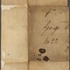 Autograph letter (fragment) signed to George Dawe, ?5 July 1813