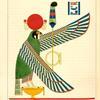 Le disque ailé et l'épervier, emblêmes de Thoth Trismégiste, ou le I-er Hermès.