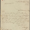 Autograph letter signed to William Whitton, 7 January 1814