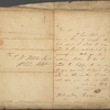 Autograph letter signed to James Wedderburn Webster, [30 March-10 April 1814?]