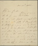 Autograph letter signed to John Cowell, 22 October 1814