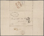Autograph letter signed to Thomas Jefferson Hogg, 1 January 1815