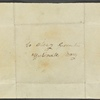 Autograph letter signed to Thomas Jefferson Hogg, 7 January 1815