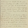 Autograph letter signed to William Whitton, 22 January 1815